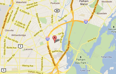 Map of Throgs Neck/Co-Op City