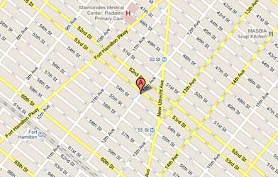 Map of Boro Park