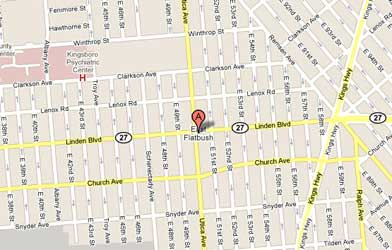 Map of East Flatbush/Remsen Village