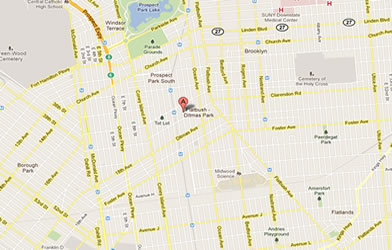 Map of Flatbush/Ditmas